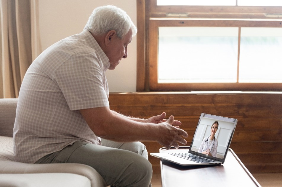 Telehealth for managing with Covid-19 restrictions